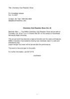 Chemistry Club Reaction Show