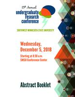 2018: 13th Annual Undergraduate Research Conference--Abstract Booklet