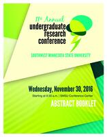 2016: 11th Annual Undergraduate Research Conference--Abstract Booklet