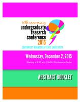 2015: 10th Anniversary Undergraduate Research Conference--Abstract Booklet