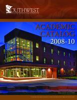 2008-10 SMSU Catalog