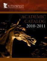 2010-11 SMSU Catalog