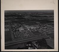 Aerial photo of Southwest Minnesota State College, Marshall, Minnesota