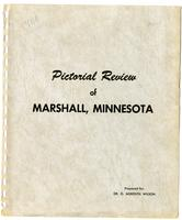 Pictorial review of Marshall, Minnesota