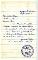 Letter from Mr. and Mrs. Orton Thorkelson, Granite Falls, Minnesota, to Meredith Wilson, St. Paul, Minnesota