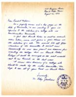 Letter from Mr. LeRoy Jacobson, Granite Falls, Minnesota,  to Meredith Wilson, St. Paul, Minnesota